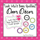 Door Decor: Bright and Owls