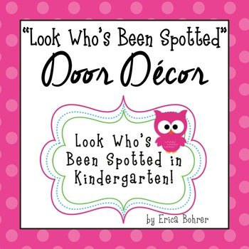 Door Decor: Bright and Owls