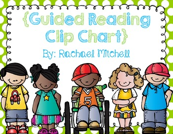Bright Polka Dot Guided Reading Clip Chart