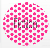 Bright Polka Dot Reading Labels