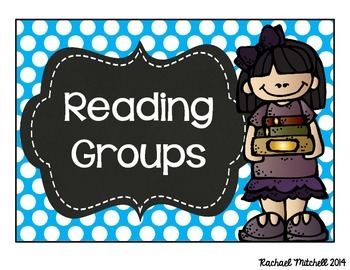 Bright Polka Dot and Chalkboard Guided Reading Clip Chart