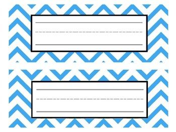 Bright Polka Dot and Chevron Classroom Labels, Alphabet, and Decor - EDITABLE