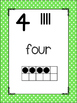 Bright Polka Dots Number Posters {Math} Ten Frames {Number
