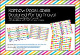 Bright Pops Big Tray Labels