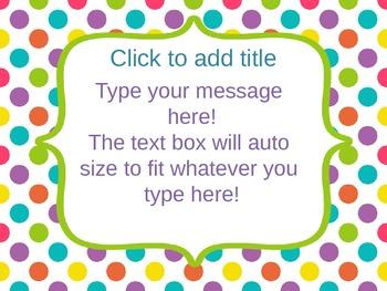 Bright powerpoint template editable by learning in kinder tpt bright powerpoint template editable toneelgroepblik Gallery