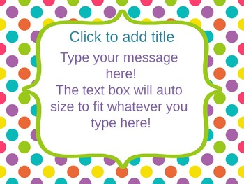 Bright powerpoint template editable by learning in kinder tpt bright powerpoint template editable toneelgroepblik Choice Image