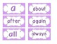 Bright Purple Polka Dot Word Wall Cards