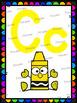 Bright Rainbow Alphabet Posters