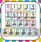 Bright Rainbow Polka Dot Number Posters: Includes 10 frames!