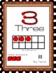Bright Red, Burlap, and Black and White Dots- Classroom Decor Kit