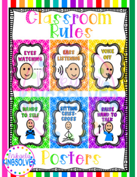 Bright Rules Posters