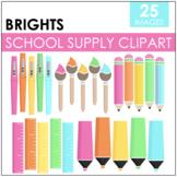 Bright School Supply Clipart
