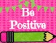 Bright School Theme PBIS Posters