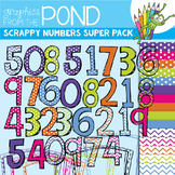 Scrappy Numbers SUPER Pack!