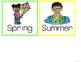 Bright Seasons Display Cards