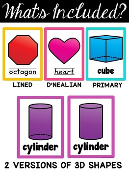 Bright Shape Posters