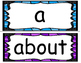Bright Sight Word Cards