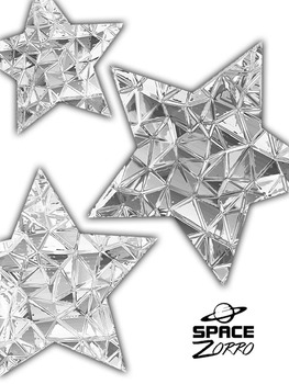 Bright Silver Stars Images