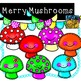 Mushroom Clip Art Smiley Face Clips Personal and Commercia