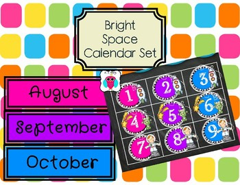 Bright Space Calendar Set #Markdownmonday