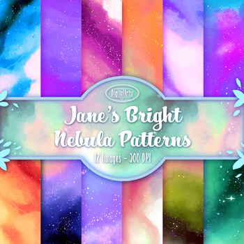 Bright Space Digital Papers