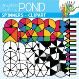 Spinners - Clipart for the Classroom and Commercial