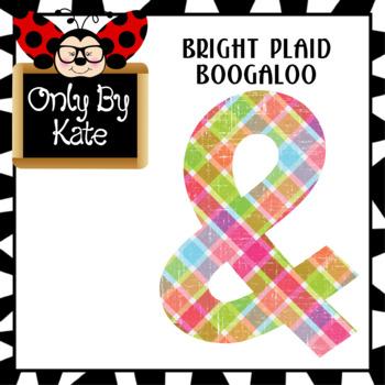Bright Spring Bulletin Board Letters
