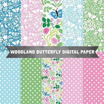Digital Paper - Spring