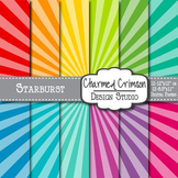 Bright Starburst Digital Paper 1007