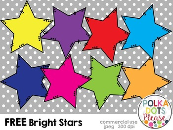Bright Stars {Graphics for Commercial Use}