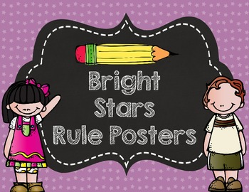 Bright Stars Rule Posters- Customized for you!
