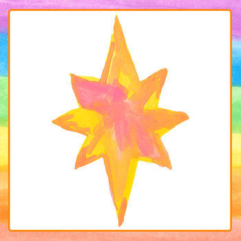 Bright Stars Watercolor - Handpainted Clip Art Set for Commercial Use