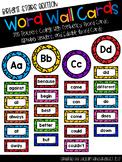 Bright Stars Word Wall with Editable Templates- 200 Teache