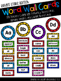 Bright Stars Word Wall with Editable Templates- 200 Teache