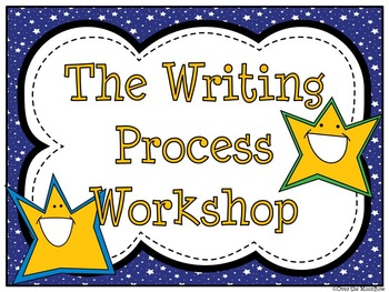 Bright Stars Writing Process Workshop Displays & Clip Chart