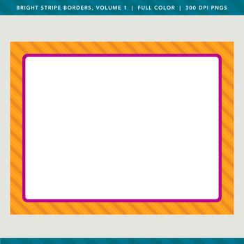 Bright Stripe Borders, Volume 1
