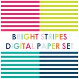 Bright Stripe Digital Paper
