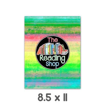 Bright Striped Grunge Digital Paper Backgrounds
