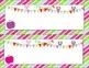 Bright * Stripes & Polka Dot * Owl & Bunting * Name Plates