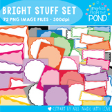 Bright Stuff - Super Set of Borders / Frames / Pages