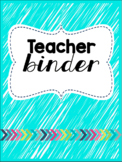 BRIGHT Teacher Survival Binder