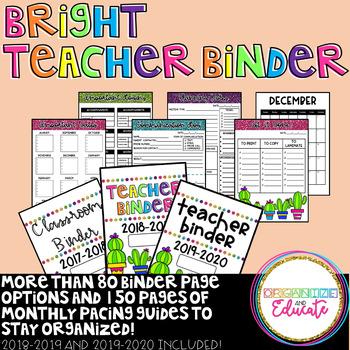 Bright Teachers/Classroom Binder