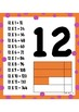 Bright Times Tables Multiplication Charts
