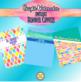Bright Watercolor Editable Binder Covers