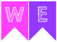 Bright Welcome Banner