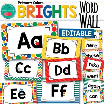 Bright Word Wall