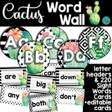 Cactus Word Wall