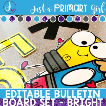 Bright Work Bulletin Board
