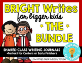 {BUNDLE} Bright Writes For Bigger Kids: Journal Prompts