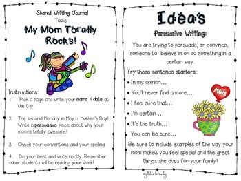 Bright Writes for Bigger Kids: Journal Prompts {April/May}